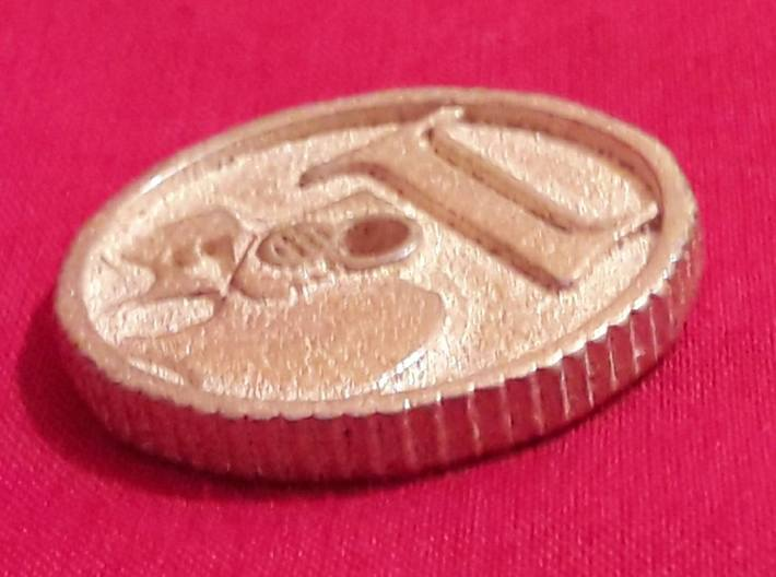 Imperial Coin 3d printed