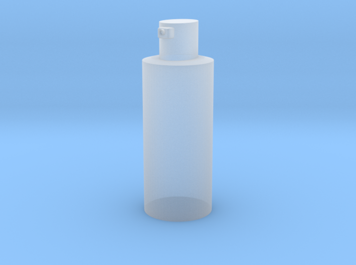 alcohol bottle 3d printed