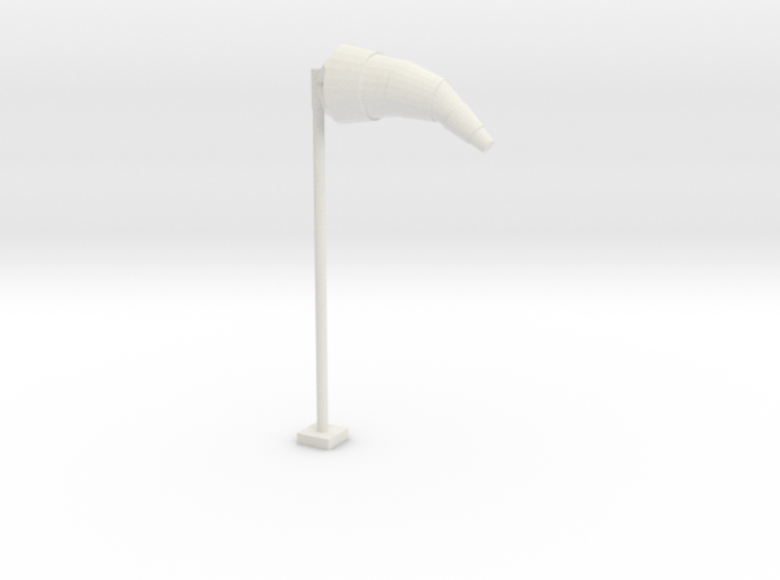 Airport Windsock and Pole 1/35 3d printed