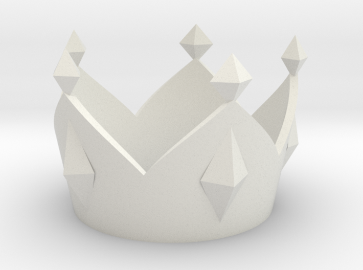 Mario King Boo Crown (Costume Size) 3d printed