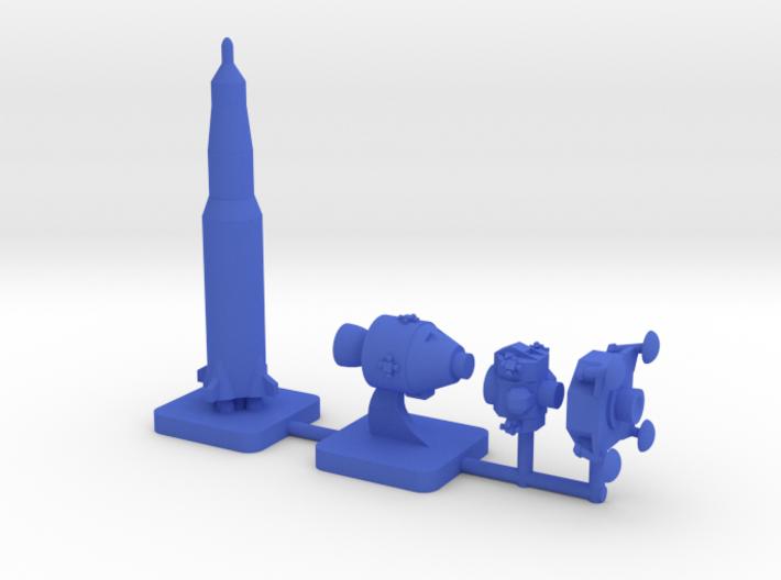 Custom Mini Apollo Program, 4-set 3d printed