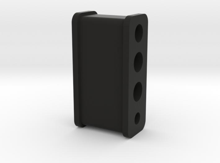 Fuel Line Insulator- 4 hole 3d printed