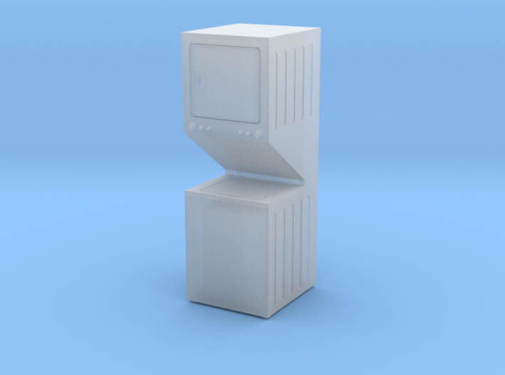 Washer Dryer Combo 01. 1:48 Scale 3d printed