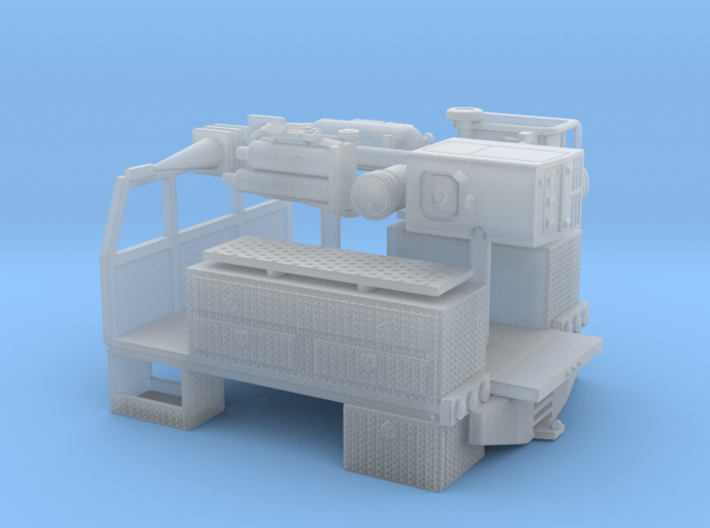 1/64th 8' long pickup sized service bed 3d printed