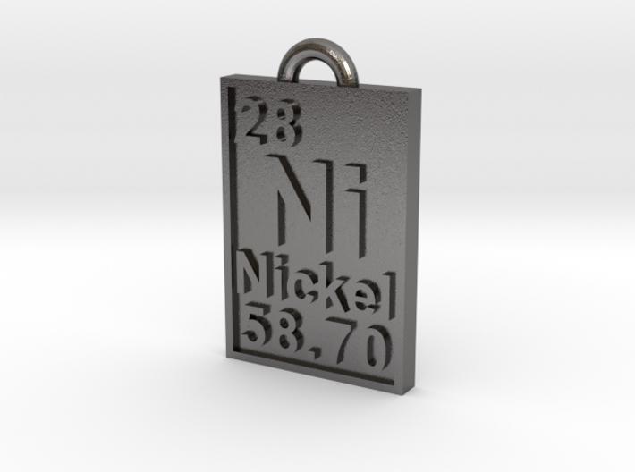 Nickel Periodic Table Pendant 3d printed