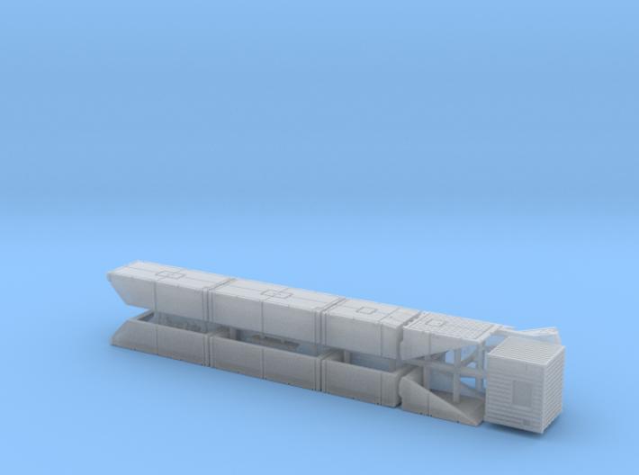 British Mexeflote Ponton System 1/220 3d printed