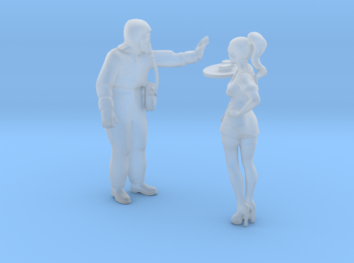 Printle T Couple 1940 - 1/87 - wob 3d printed
