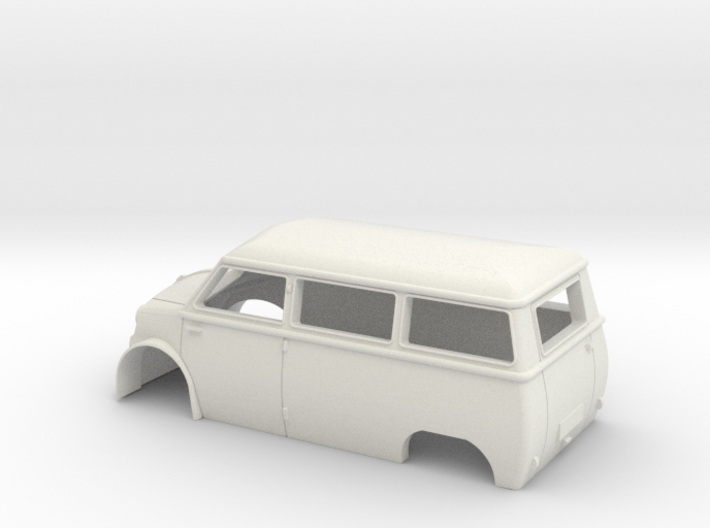 lloyd bus at scale 00 (76) 3d printed