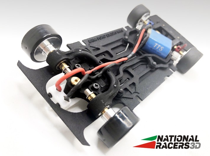 Chassi - BRM Ford Escort MK1 (AiO-Aw) 3d printed