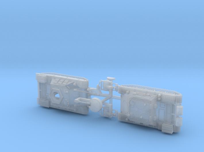Russian BMR-1 & TOP ARV 1/160 3d printed