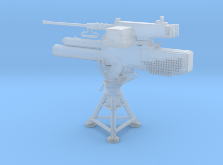1/48 Scale Mk 2 81mm Mortar with 50 Cal 3d printed