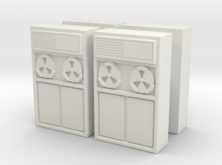 Old Computer Bank (x4) 1/100 3d printed