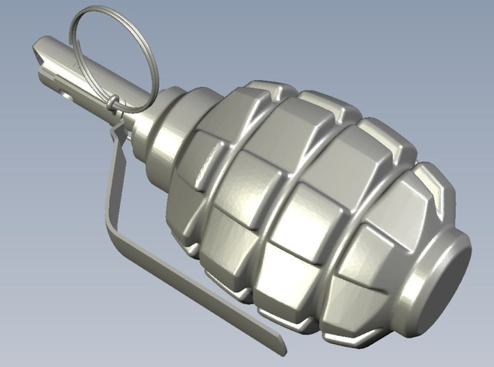 1/12 scale F-1 Soviet hand grenades x 15 3d printed