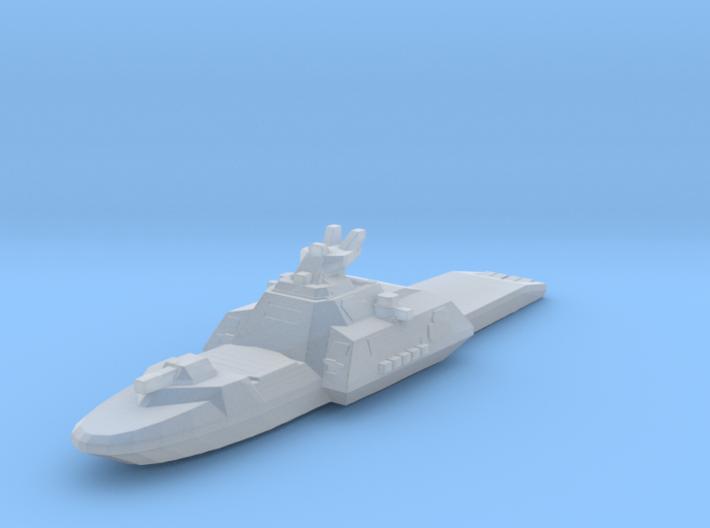 Gundam cruiser Des Moines 1:5000 waterline 3d printed