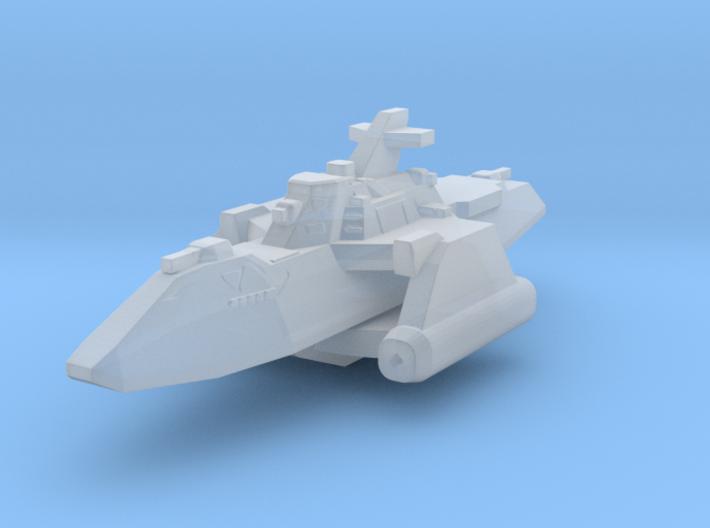 Gundam Aegis class cruiser trimaran 3d printed
