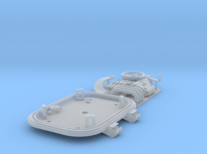 1:6 Tiger I loader's hatch (40mm roof) 3d printed