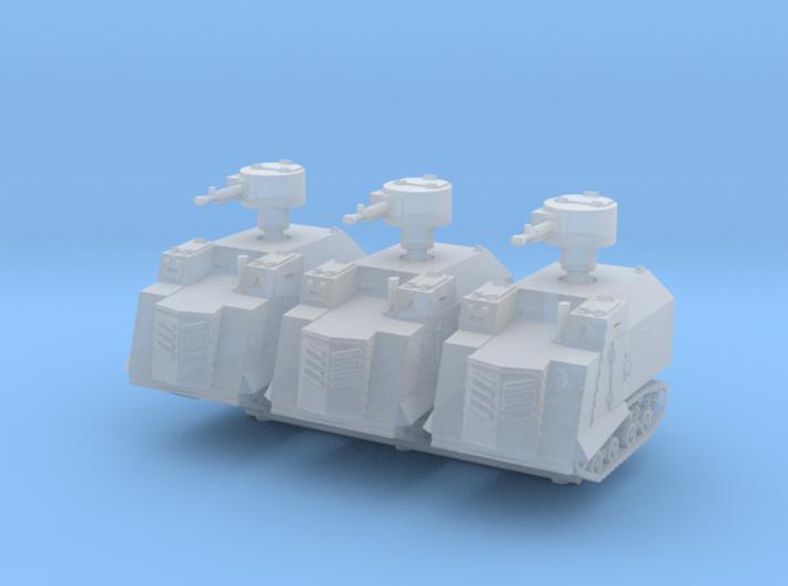 NI Odessa Type 2 Tank (x3) 1/220 3d printed