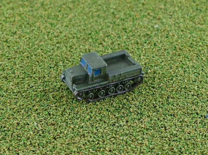 Russian Ia-12 Full Tracked Tractor 1/285 6mm 3d printed