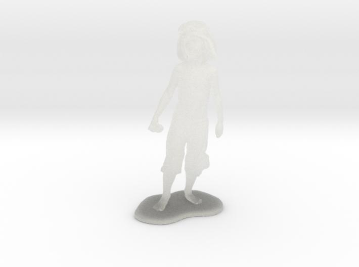 Schoony - Boy Soldier (28mm Tall) 3d printed
