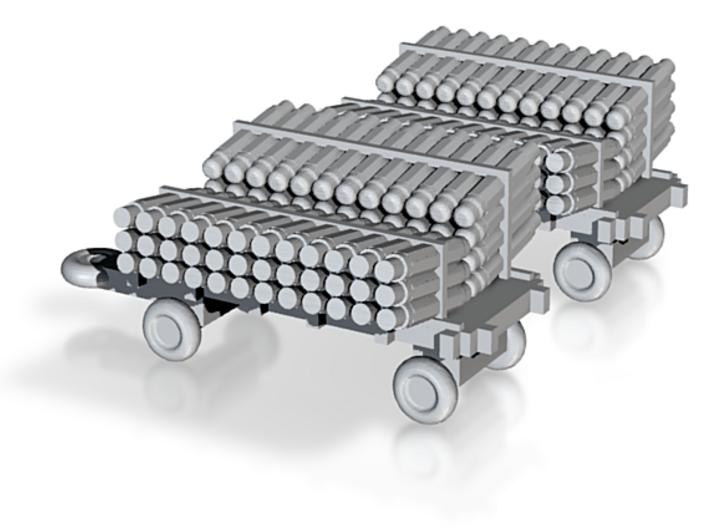 1/400 Scale Sonobouy Carts 3d printed