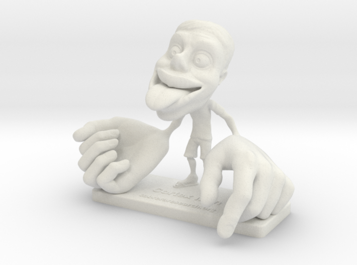 CortexMan Color (Small) [Clothed Educational Uses] 3d printed