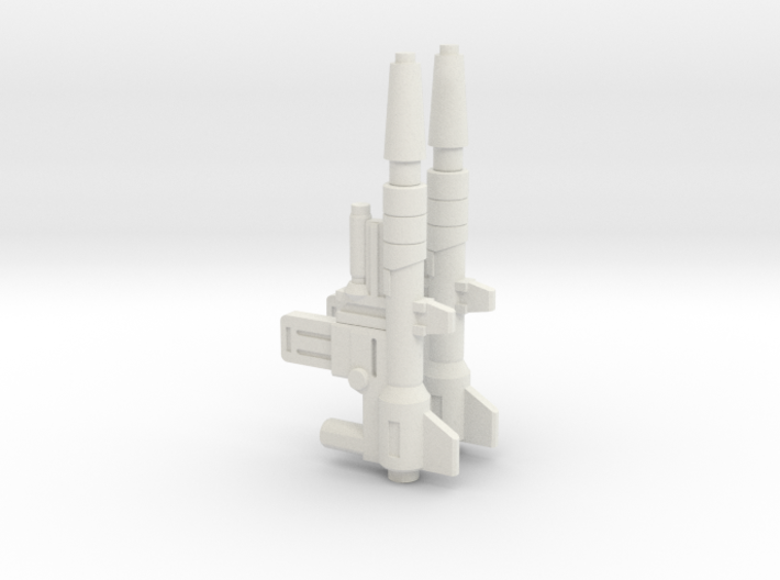 TF Cyberverse POTP Skark Blaster 2 Pack 3d printed