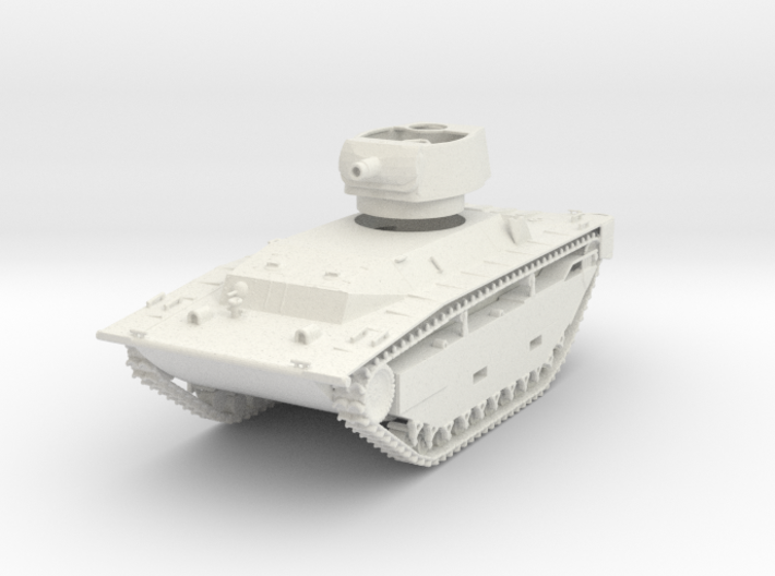 1/72 Scale LVT(A)-4T 3d printed