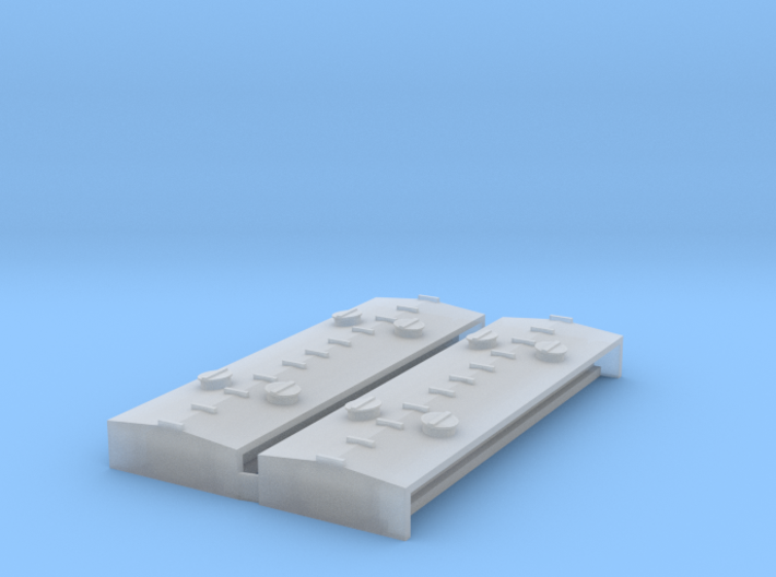 """""""N Scale"""" Northern Pacific Sand Car Roof insert 3d printed"""