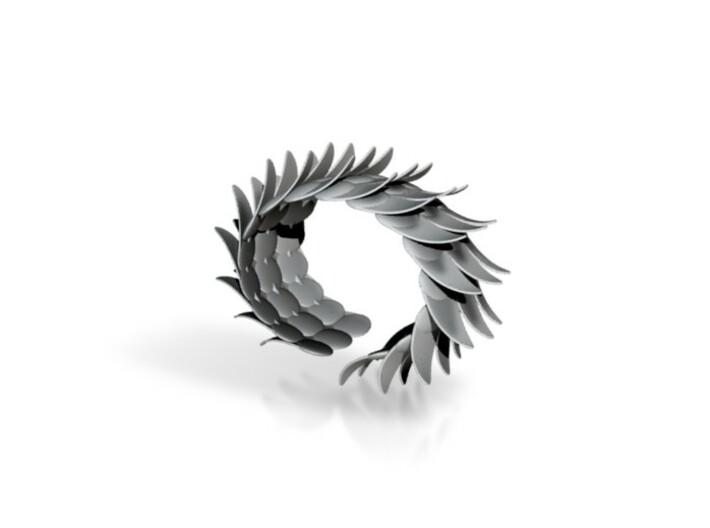 vleugelarmband - L 3d printed