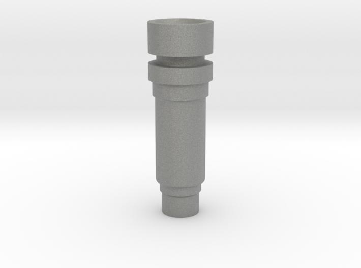 Modular nozzle +0mm D-shape 3d printed