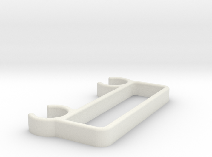 Zocus - AAx4 - Battery Clip 3d printed