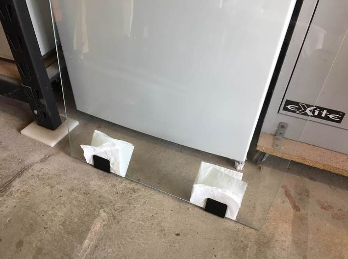 Pinball Cabinet Glass Protector 3d printed