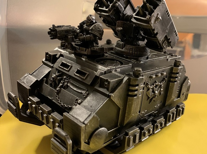 Rhino-Chassis Grav Conversion Kit 3d printed (Awesome Templar Whirlwind not included)