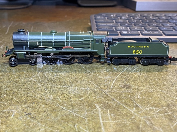 Lord Nelson Body N Gauge 3d printed
