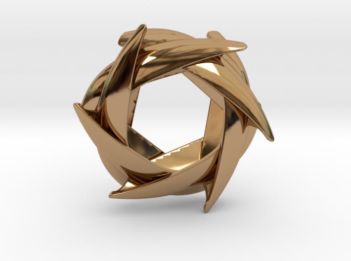 COROLLA pendant (cm 3) 3d printed