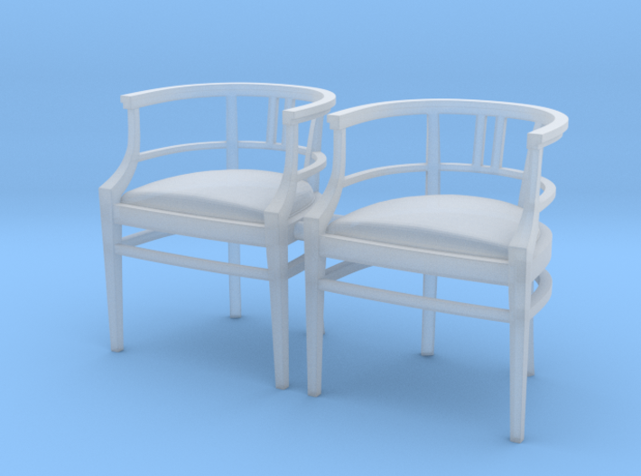 Chair 15. 1:24 Scale  3d printed