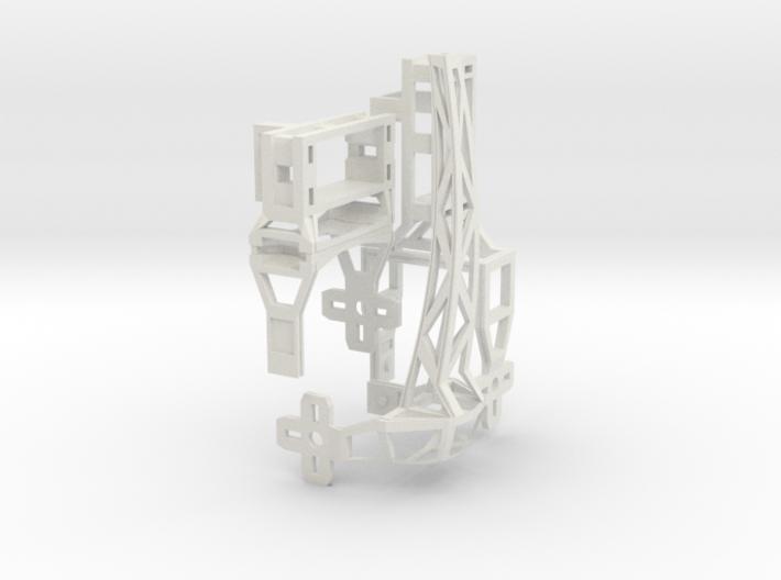 Hexapoddy-shapeways 17 Onepaw 3d printed