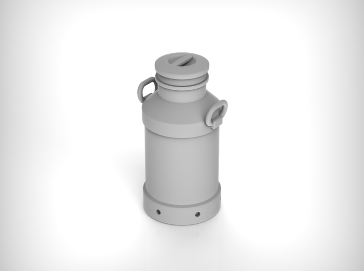 Milk churn 40 liters. 1:24 Scale 3d printed