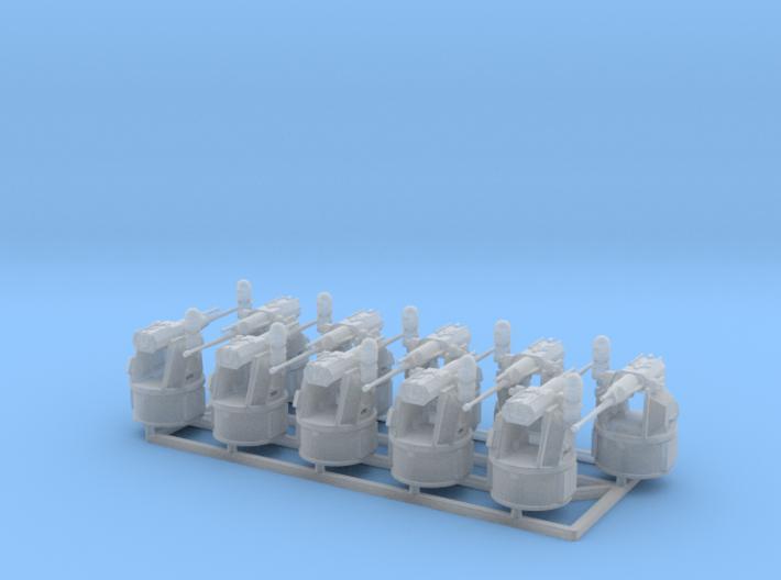 25mm MK38 MOD 2 1/144 x 10 3d printed