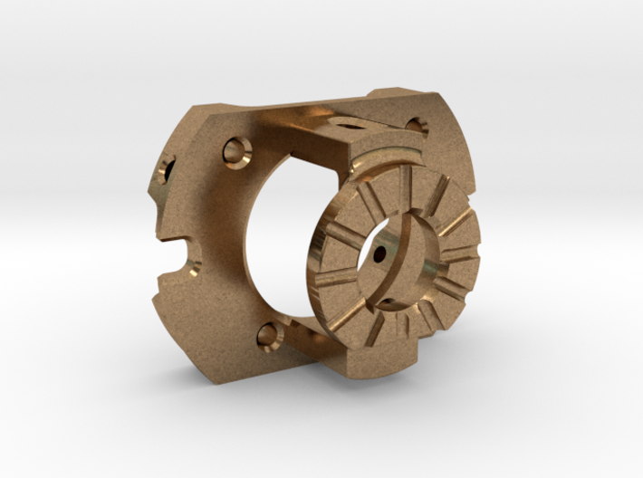 """End-Bell for Slot Car """"Mini"""" Style Motor 3d printed"""