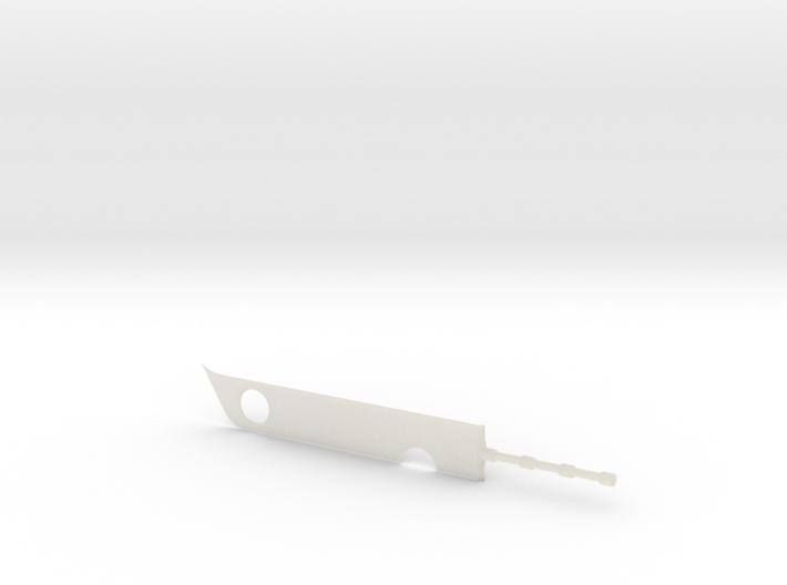 Zabuza's sword ZANBATO (mini) 3d printed