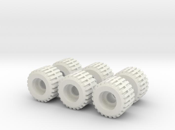 TF G1 Prime Roller Wheel (Set of 6) 3d printed