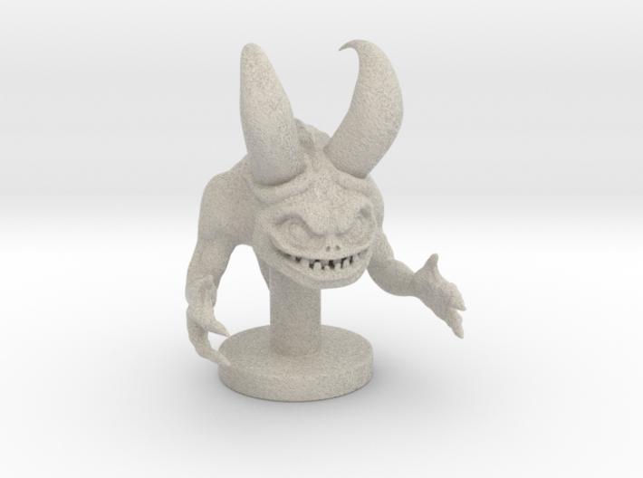 Sculpted Monester 3d printed