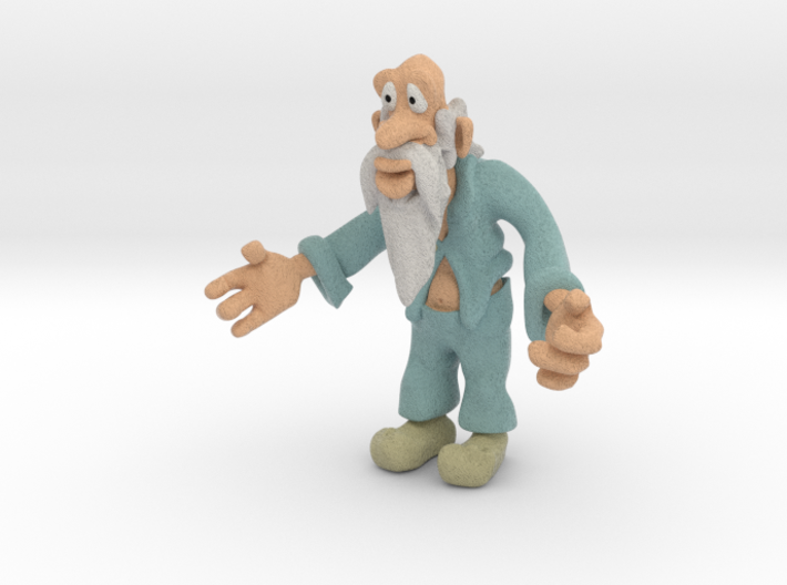 Old man 3d printed How about a hug