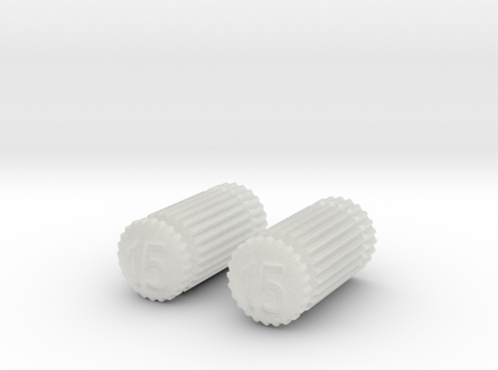 Pair of Dental Files 3d printed