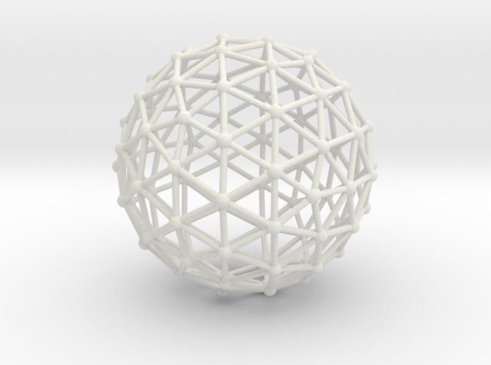 Icosahedron Sphere 3d printed