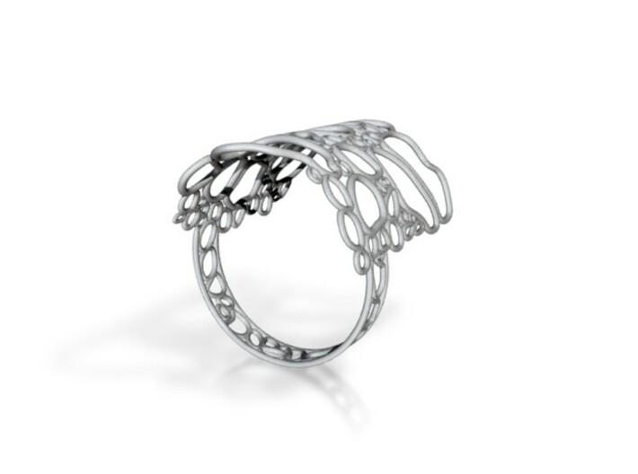 Bone ring size M 3d printed