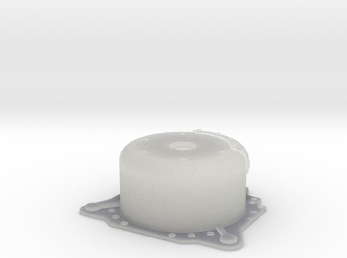 "1/25 Lenco 7.5"" Dp Bellhousing (No Starter Mnt) 3d printed"