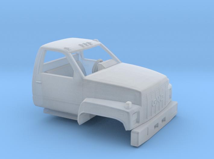1/87 1990-94 GMC TopKick Cab 3d printed