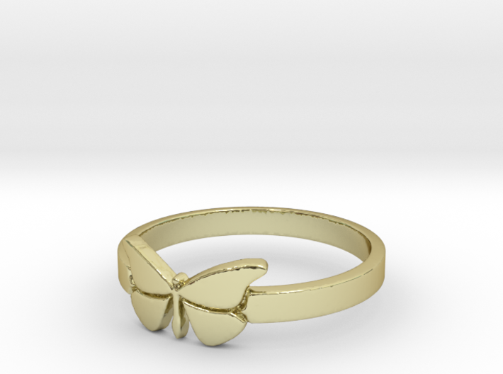 Butterfly (small) Ring Size 10 3d printed